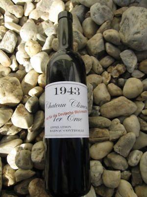 Wehrmacht Wein Etiketten 1943 4 Stück LW WW2 WKI WKII Wine Label Sticker WH