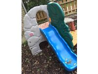 Little tykes jungle climbing frame