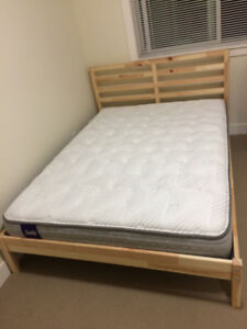 Brand new Full (double) bed frame with mattress