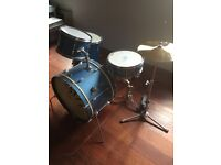 Highly collectable! Vintage Premier drum kit