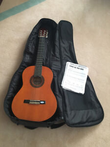Guitar and case in excellent condition