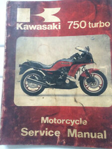 1984 Kawasaki Factory ZX750EI Turbo Ninja Service Manual