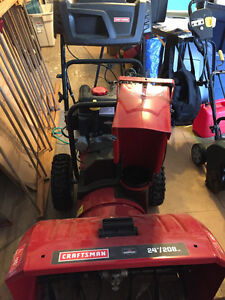 Snowblower - used 2 times