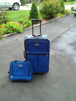 Suitcase and Tote