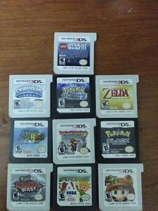 3DS, Accessories, and Some games