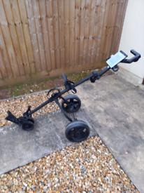 3 wheel push trolley £35