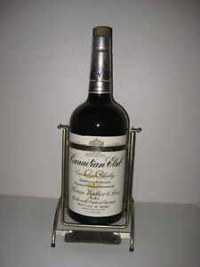 RARE! 1 GAL CANADIAN CLUB WHISKEY BOTTLE in DISPLAY STAND Peterborough Peterborough Area image 2