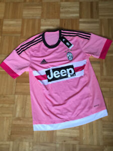 Juventus JEEP pink jersey NEW with tags