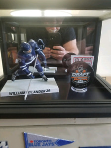 Toronto Maple Leafs William Nylander Autographed Draft Day Puck