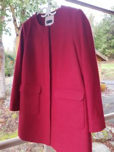 Ladies Wool Coat - Brand New!