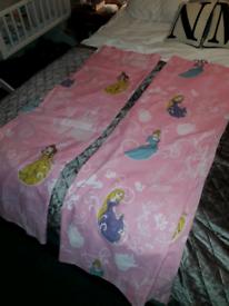 Disney princess curtains.