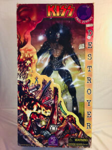 "1970S HUGE KISS 28"" ACTION FIGURE NEW IN BOX....FREE SHIPPING!"