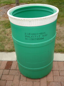55 Gallon Plastic Drum / Barrel