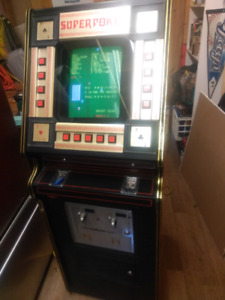 Vintage Poker Arcade Machine