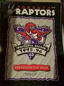 Raptors Commemorative Program - 1995