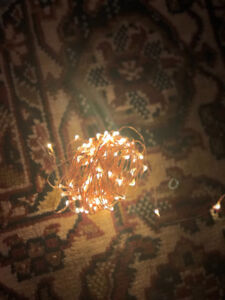 Fairy Lights! Add sparkle to your room, deck or wedding !