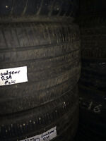 2 USED GOODYEAR EAGLE RS-A TIRES 285/40R20