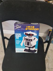 Vintage star command robot