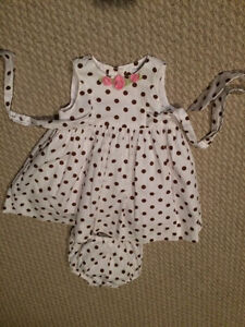 Baby - baby girl dresses size 3-6 months- see all pictures
