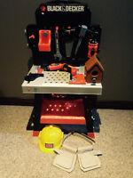Black & Decker Toy Work Bench & Accessories