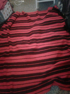 Beautiful knitted blanket...offers ACCEPTED..must go by Thursday