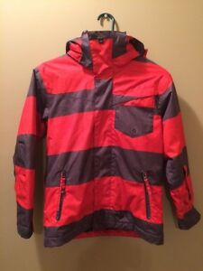 Quicksilver Brand Boys Winter Jacket - Size S (10)