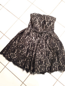 Brand New Lace Overlay Dress