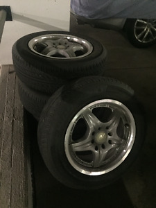 Excellent Condition ICW Racing Rims w/ Goodride Summers
