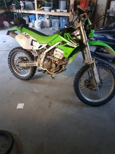 250cc Kawasaki klx