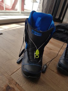Like New 11 Forum Antenna Snowboard Boots w Speed Zone Lacing