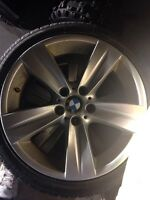 "18"" BMW alloy Rims on Tires"