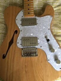 Squire Vintage Modified Thinline Telecaster