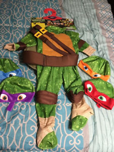 TMNT size 1-2 toddler costume NEW