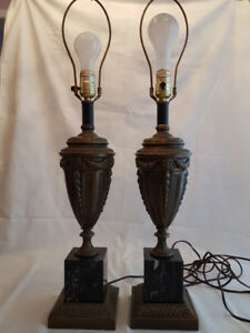 French style table lamp