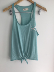 Blue Hollister Athletic Tank Top
