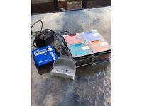 Sony minidisc player MZ N707 +32 blank discs