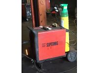 2x Sealey Supermigs 220Amp