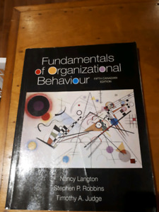 Fundamentals of organisational behavior