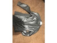 Triumph Ladies leather 2 piece suit