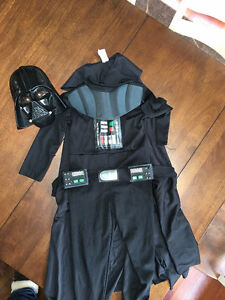 Darth Vader Star Wars Costume - Size 4-6
