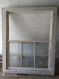 Wooden, Softwood Sliding Sash Window - Never been used