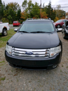 2008 FORD TAURUS LIMITED AWD NEW MVI