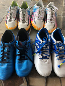 Youth Messi Soccer Shoes ( 4 pairs )- $30