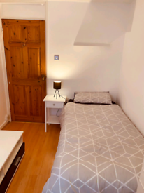 Single Furnished bedroom to let in house.