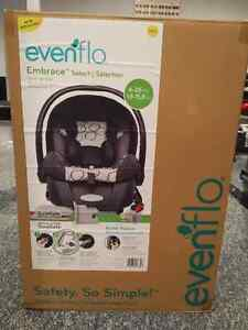 Evenflow Embrace Car Seat and Base (Brand New)