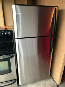 Kenmore stainless steel fridge for sale