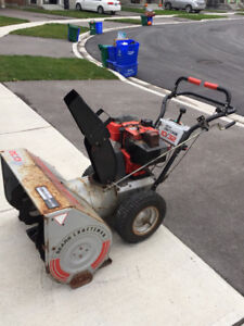 Craftsman snowblower self propelled