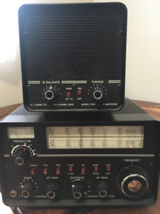Drake receiver 2B with Q multiplier 2B-Q. Excellent condition.