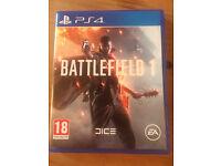 Battlefield 1 Playstation 4 game + premium pass