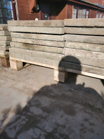 600 x 600 old grey slabs